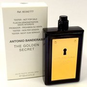 Antonio Banderas The Golden Secret Eau de Toilette - Teszter