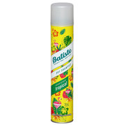 Dry hair shampoo with aromas of tropical fruit (Dry Shampoo Tropical With A Coconut & Exotic Fragrance)